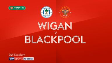 Wigan 2-1 Blackpool