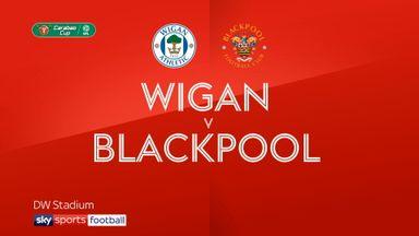 Wigan 2-1 Blackpool