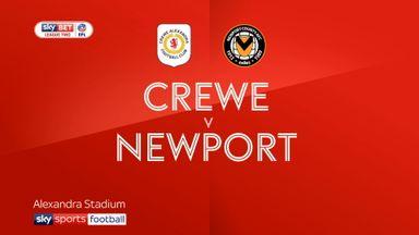 Crewe 1-1 Newport