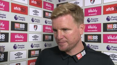 Howe pleased by Bournemouth spirit