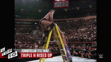 WWE Top 10: SummerSlam title wins