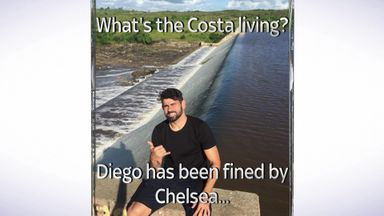 Costa's Brazilian getaway