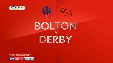 Bolton 1-2 Derby