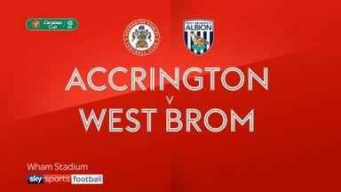 Accrington 1-3 West Brom
