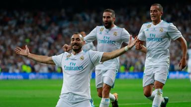 Super Cup: Real Madrid 2-0 Barcelona (5-1 agg)