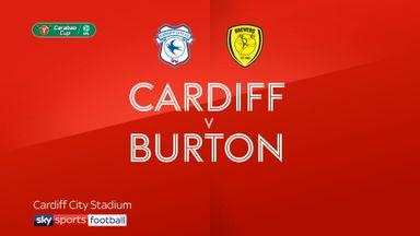 Cardiff 1-2 Burton