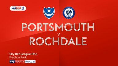 Portsmouth 2-0 Rochdale