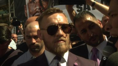 McGregor predicts first-round KO