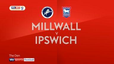 Millwall 3-4 Ipswich