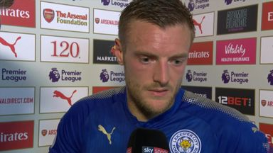 Vardy rues lapses in concentration