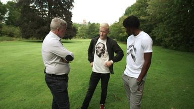 Footgolf with Chalobah and Hughes
