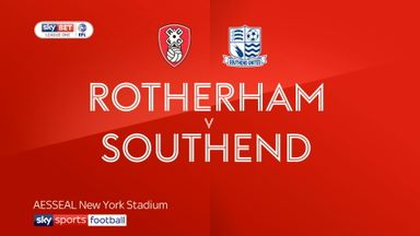Rotherham 5-0 Southend