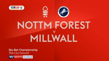 Nottingham Forest 1-0 Millwall