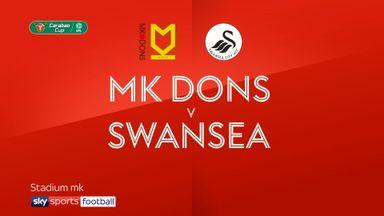 MK Dons 1-4 Swansea