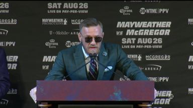 McGregor: I will break old man Mayweather