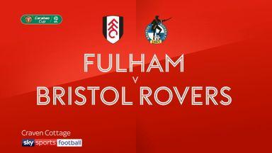 Fulham 0-1 Bristol Rovers