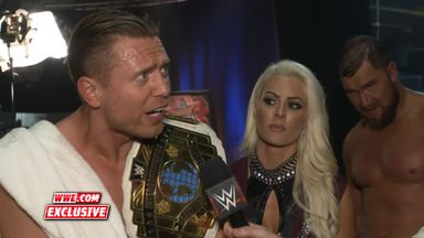 The Miz calls out Kurt Angle