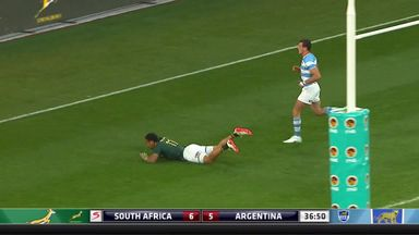 South Africa 37-15 Argentina