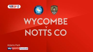 Wycombe 2-4 Notts County