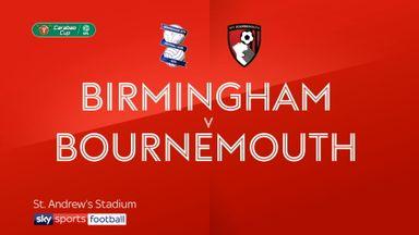 Birmingham 1-2 Bournemouth