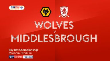 Wolves 1-0 Middlesbrough
