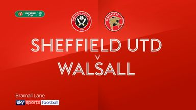 Sheffield Utd 3-2 Walsall