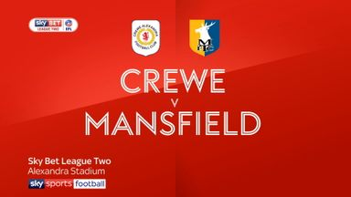 Crewe 2-2 Mansfield