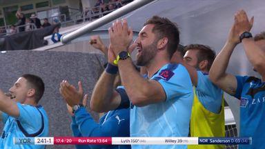 T20 Blast: Lyth leads Vikings rout