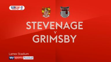 Stevenage 3-1 Grimsby