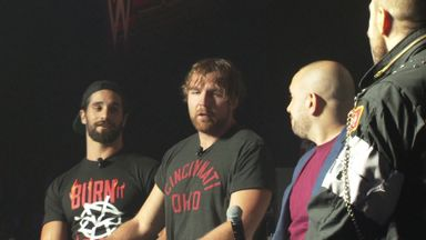 WWE stars brawl at media event