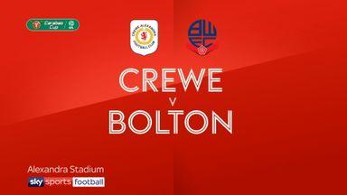 Crewe 1-2 Bolton