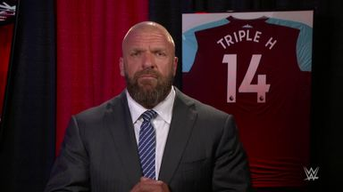 Triple H's West Ham message