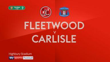 Fleetwood 1-2 Carlisle (AET)