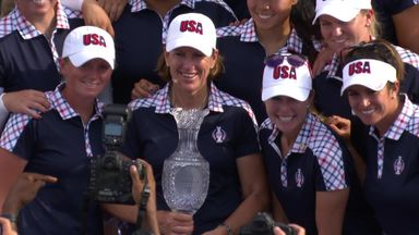 USA win the Solheim Cup