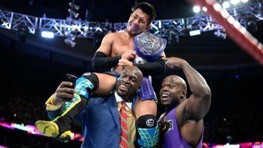 Tozawa wins WWE Cruiserweight Title