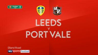 Leeds 4-1 Port Vale