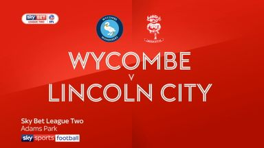 Wycombe 2-2 Lincoln