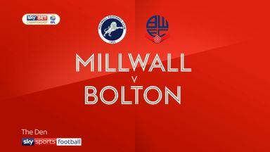 Millwall 1-1 Bolton