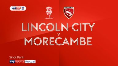 Lincoln 1-1 Morecambe