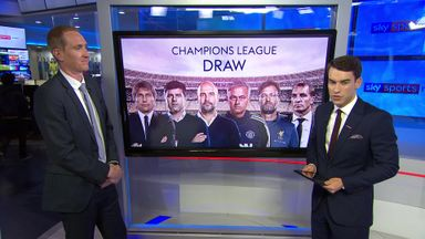 Champions League draw reaction