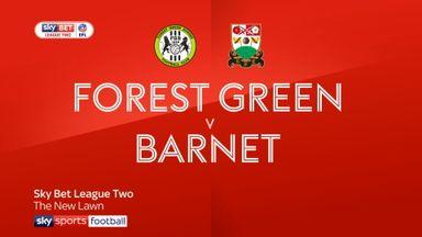 Forest Green 2-2 Barnet