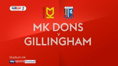MK Dons 1-0 Gillingham