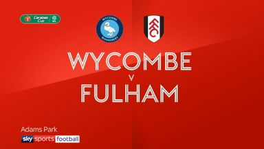 Wycombe 0-2 Fulham
