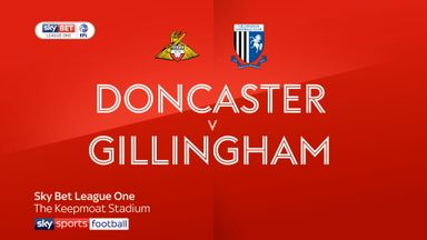 Doncaster 0-0 Gillingham