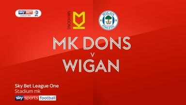 MK Dons 0-1 Wigan