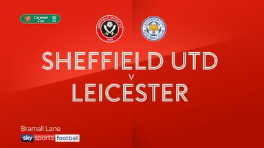 Sheffield United 1-4 Leicester