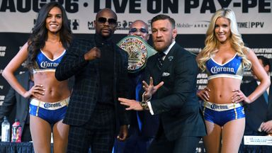 Mayweather v McGregor: The Press Conference