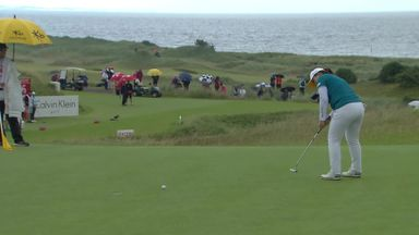 Park closes on Kingsbarns lead
