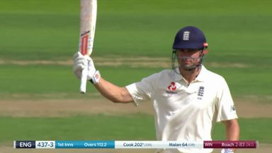 Cook reaches 200