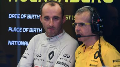 Kubica impresses on F1 return
